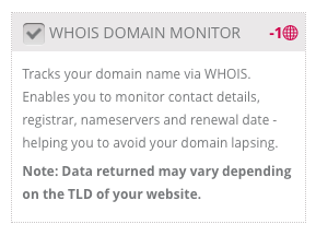 Domain and SSL Monitoring