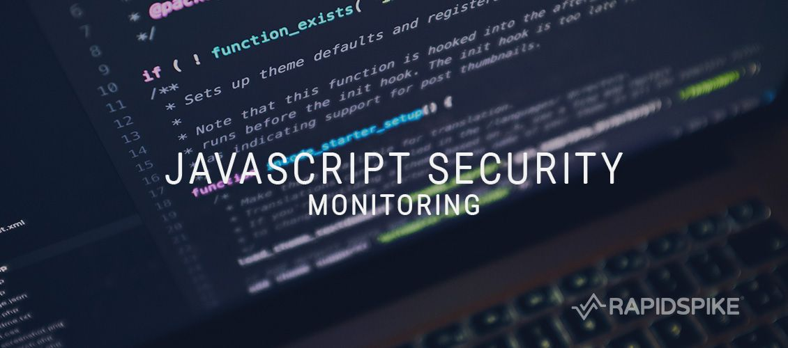 Javascript Security Monitor