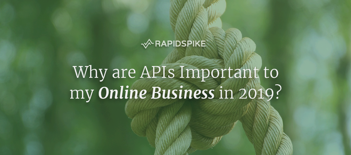 Why are APIs Important to my Online Business in 2019?