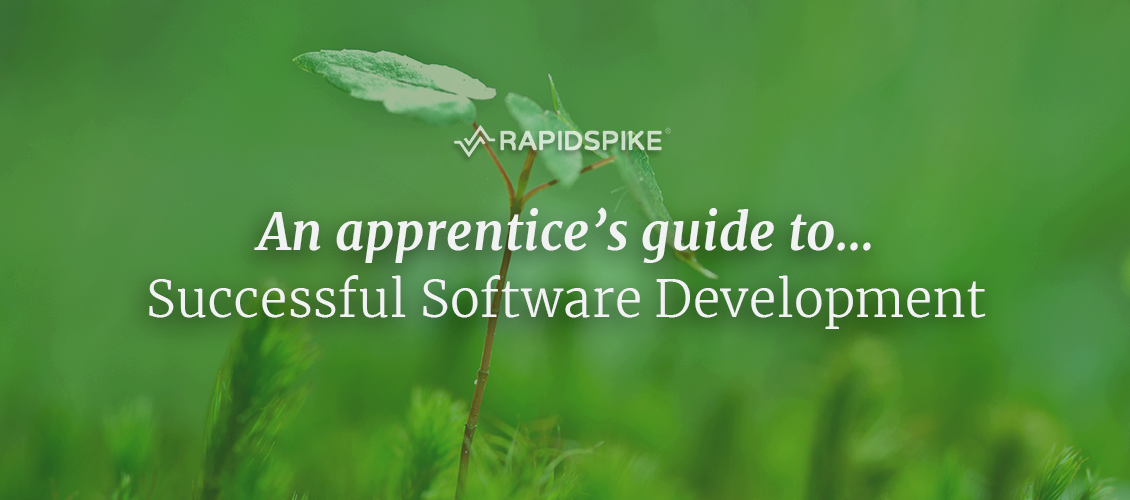 An apprentice's guide to...Successful Software Development