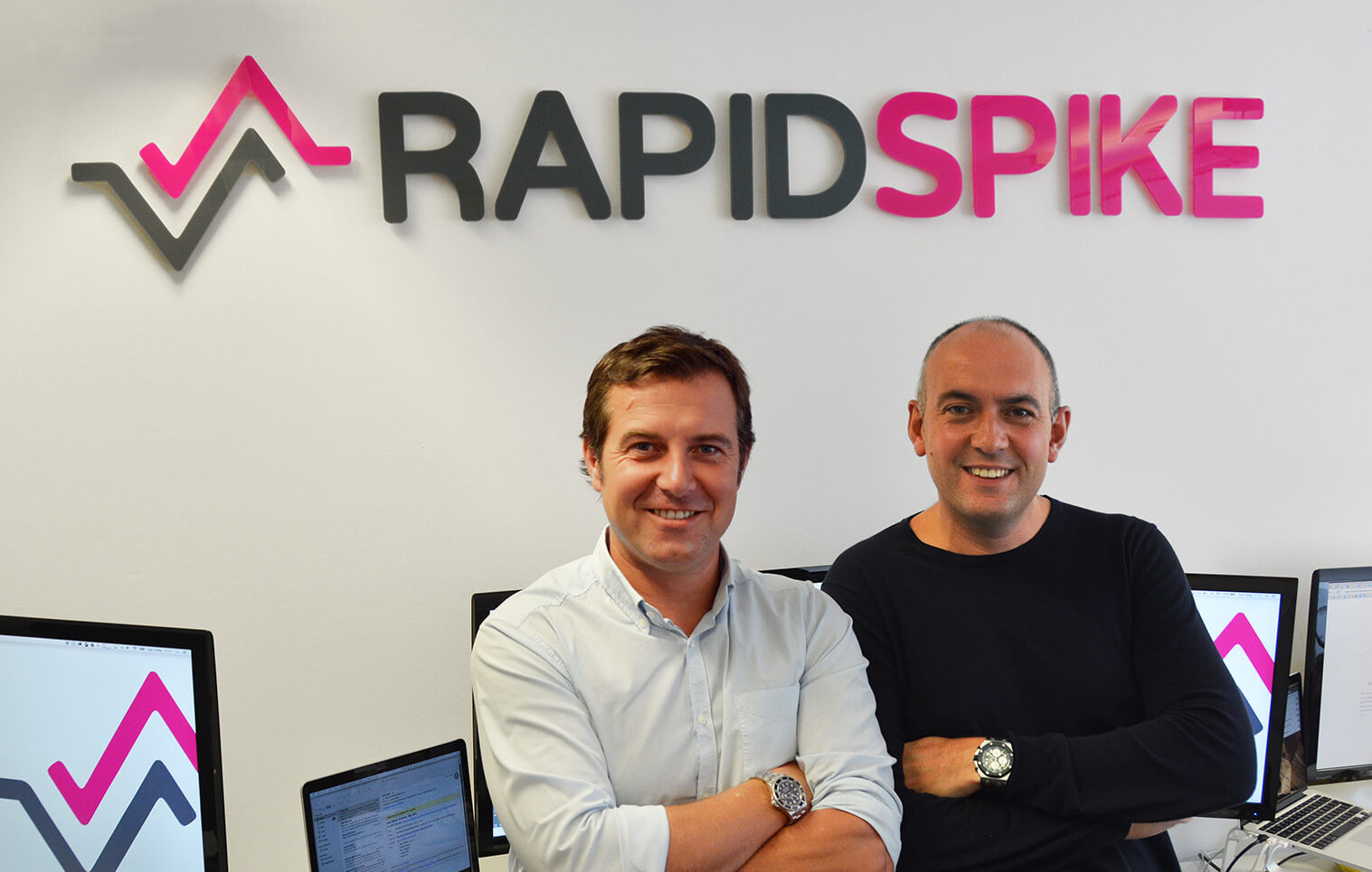 Robin and Andrew - Co-Founders of RapidSpike