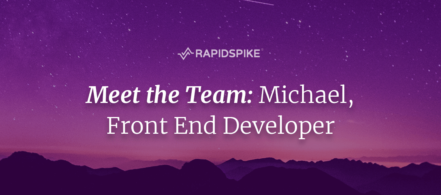 Meet the Team- Michael, Front End Developer